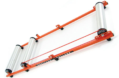 Kreitler Kompact Challenger Rollers with Alloy Drums & Poly End Caps