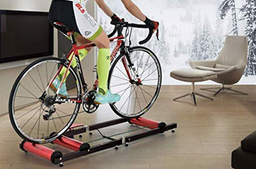 Cycling Deal Premium Indoor Bicycle Roller Trainer