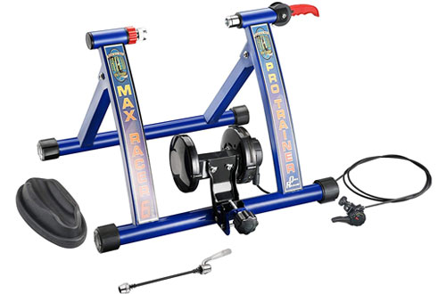 RAD Cycle Products Max Racer Portable Bicycle Trainer Work Out Machine