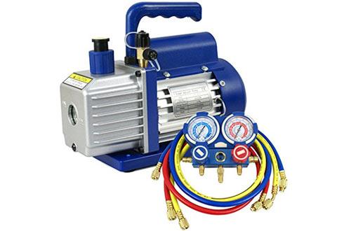 Super Deal 3.5CFM/4CFM/5CFM 1/4HP Air Vacuum Pump