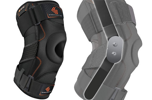 Shock Doctor 872 Runners Knee Brace for ACL/PCL Injuries & Meniscus Injuries