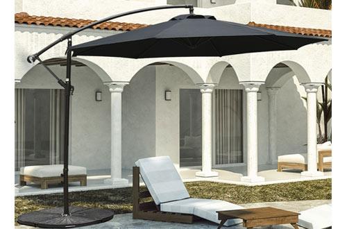 Sundale Outdoor 10 ft Offset Cantilever Umbrella