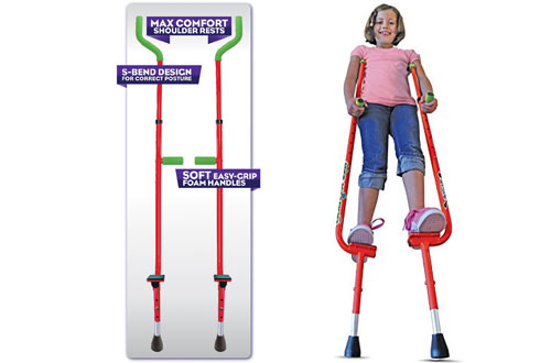 Geospace Original Walkaroo Xtreme Steel Balance Stilts