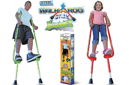 Geospace WALKAROO Xtreme Steel Balance Stilts with Height Adjustable Vert Lifters