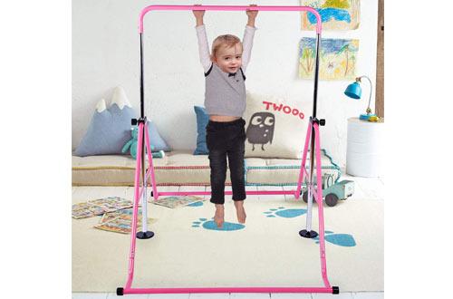 TepemccuHorizontalExpandable Gymnastics Bars for Home