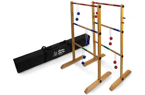 Ladder Toss Double Wooden Ladder Golfs