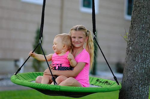 Royal Oak Giant Flying Saucer Swing for Kids