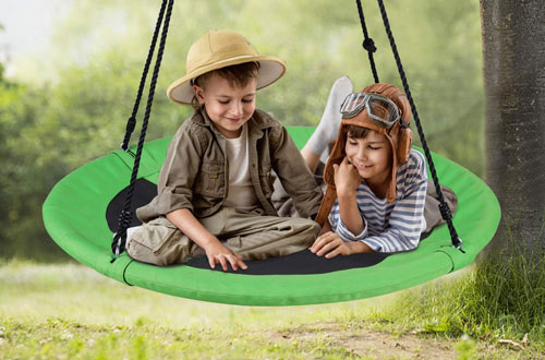 WONDERVIEW Outdoor Hanging Tree Swings for Playground