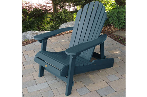 Highwood AD-CHL1-NBE Hamilton Wood Adirondack Chairs for Adults