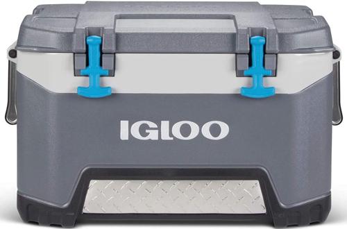 Igloo BMX 52 QuartCarbonite Gray and Blue CampingCoolers