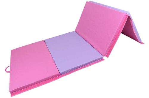 Polar Aurora 4x10x2 Thick Folding Gymnastics Exercise Mat
