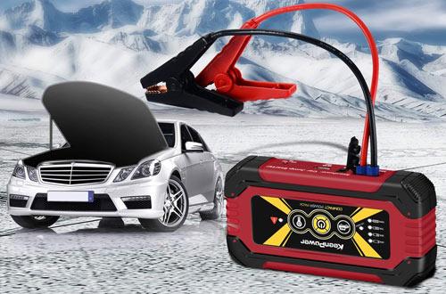KeenPower 12000mAh 600A SuperSafe Car Battery Jump Starters