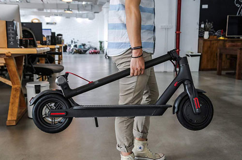 Emaxusa Portable Folding Electric Scooters for Adults