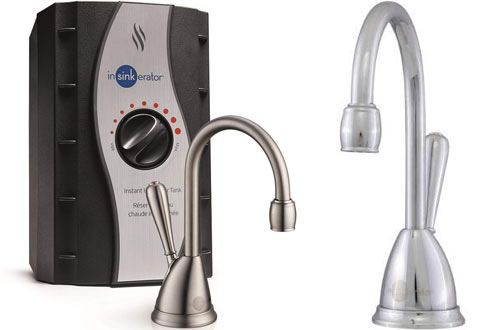 InSinkErator View Instant Hot Water Dispensers - Faucet & Tank