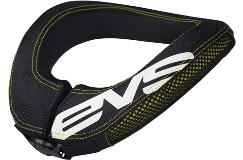 EVS Sports Black R2 Race Collar for Adult