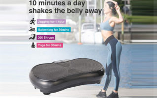Pinty Fitness Vibration Platform - Whole Body Vibration Machines