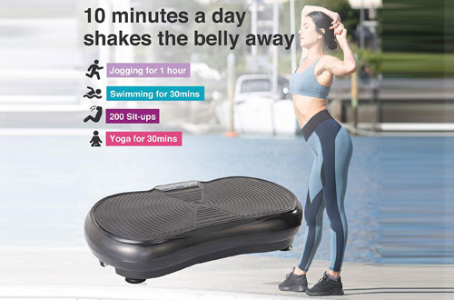 Pinty Fitness Vibration Platform - Whole Body Vibration Machines
