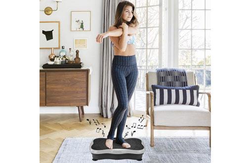 iDeer Vibration Platform Fitness Machine -Whole Body Vibrating Exercise Machine