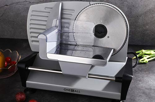 Oneisall Professional Electric Meat Slicers - Food Deli Slicer Machine