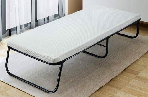 Quictent Heavy Duty Folding Guest Beds with Foam Mattress