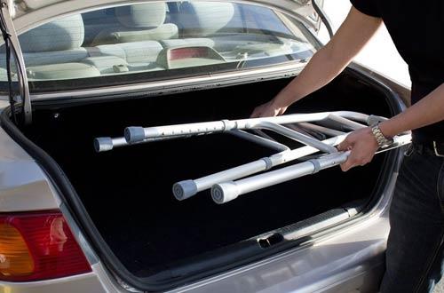 HealthlineLightweight Foldable Mobility Walker forAdult, Seniors & the Disabled