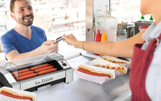 La Trevitt Commercial & Household Hot Dog Machine for Family Use