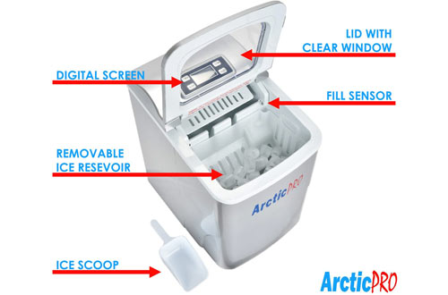 Artic-Pro Portable Ice Makers for Kitchen