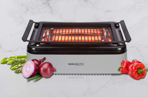 Simple Living Advanced Indoor Power Smokeless Grills