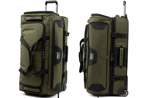 Travelpro Bold 30-Inch Rolling Duffel Bags with Drop Bottom