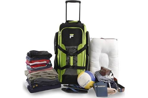 Fila Lightweight Rolling Duffel Bags for Travel