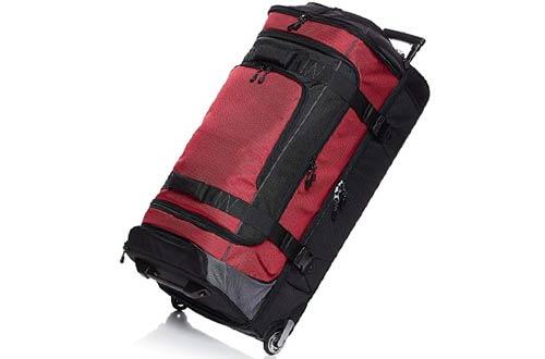 AmazonBasics Ripstop Wheeled Duffle Bags