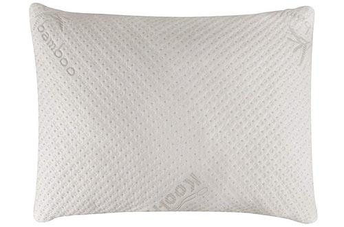 Snuggle-Pedic Ultra-Luxury Bamboo Shredded Memory Foam Pillows