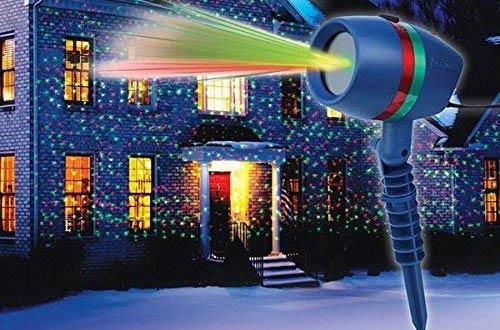 BulbHeadStar Shower Motion Laser Lights
