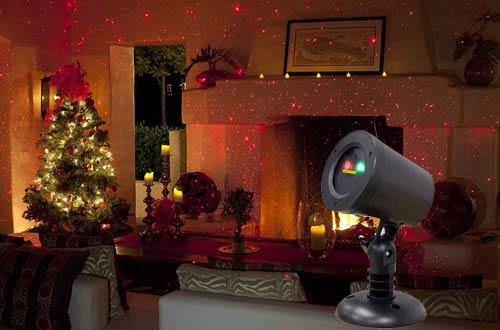 BlissLights Motion Laser Light Projector for Indoor/Outdoor Decorative Lighting