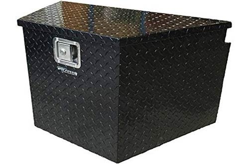 Pit Posse Black Trailer Tongue Storage Tool Box