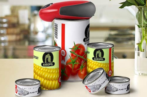 W-DragonRestaurant Can Automatic Can Opener