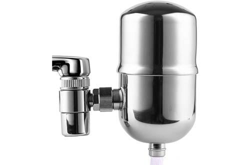 EngdentonStainless SteelFaucet Water Filters -Water Filters for Faucets