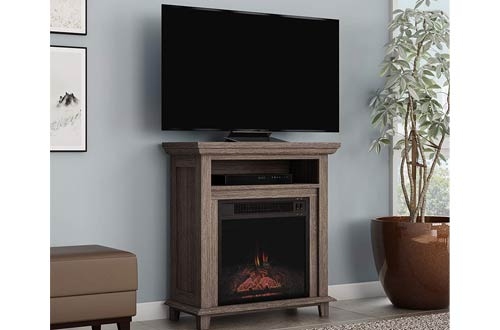 Northwest Electric Fireplace TV Stands - Freestanding Console with Shelf