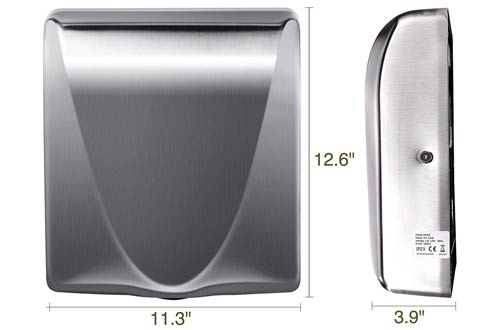 VALENS 2PCS Bathroom Electric Hand Dryers