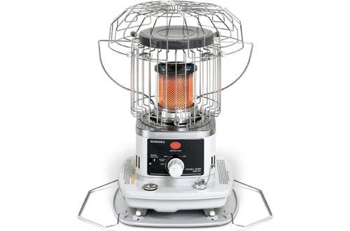 Sengoku HeatMate 10,000-BTU Omni-Radiant Kerosene Heater for Outdoor & Indoor Use