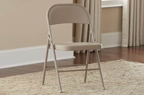 CoscoAntique LinenAll Steel Folding Chairs