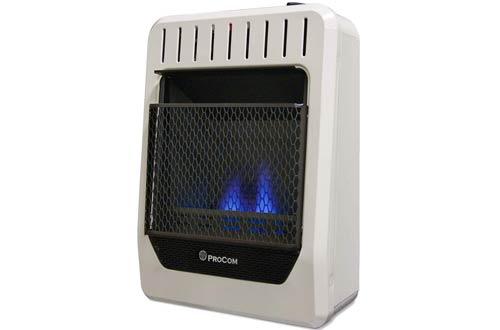 ProCom MG10TBF Portable Wall Gas Heater