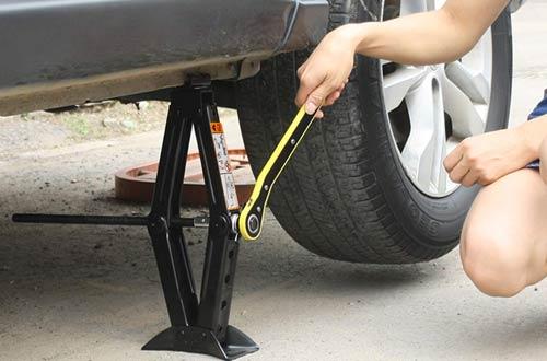 Everbest4u Portable 1.5 Ton Car Scissor Jacks with Hand Crank RV Stabilizers