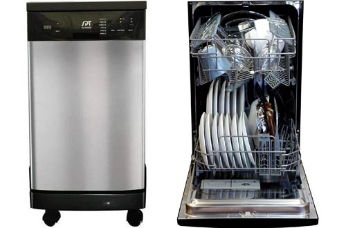 SPT SD-9241SS Energy Star Portable 18-Inch Dishwasher