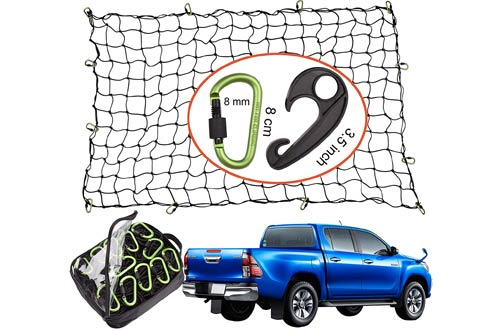 Top 10 Best Truck Bed Cargo Nets Motorcycle Cargo Nets Reviews