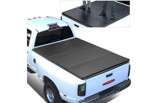 For 15-18 Ford F150 Tri-Fold Hard Bed Truck Covers