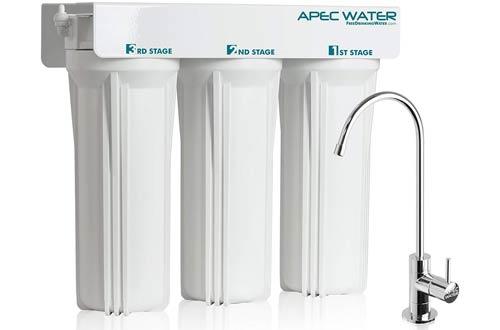 APEC WFS-1000 Super Premium 3 Stage Under Sink Water Filters