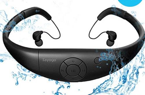 IPX8 Underwater Headphones forSwimming