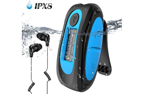 Aptek Swimming MP3 Player - Waterproof MP3 Players with Headphones
