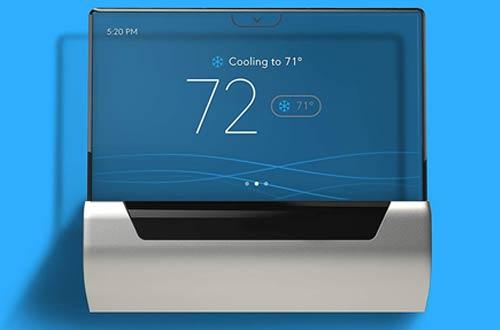 Johnson GLAS Smart Wireless ThermostatsWork with Amazon Alexa